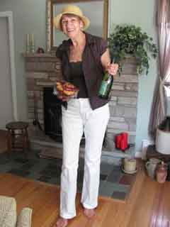 Alice McCormick, who once was a regular on American Bandstand, is a connoisseur of wine.