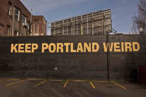 Portlanders assert a distinctive endorsement of Measure 91.  (George Rose/Getty Images News)
