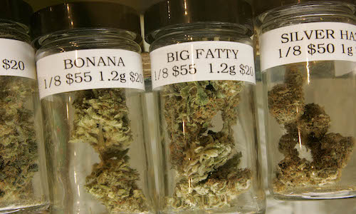Colorado's legalization of weed has stimulated production of designer weed. Photo from gopusa.com.