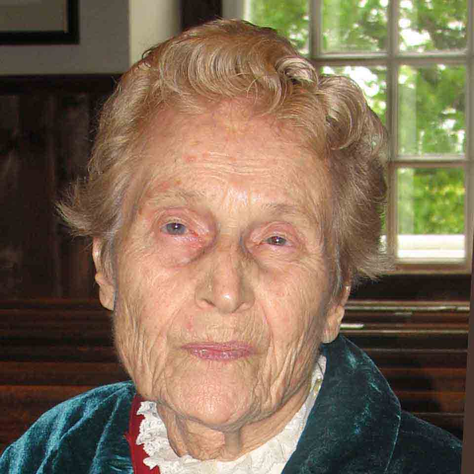 Margaret Bye Richie, 12/21/1913 - 12/30/2013
