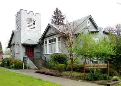 Unitarian Universalist Church, 22785 NW Birch St., Hillsboro.