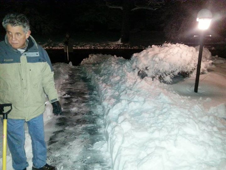 The snow last year in Doylestown was deep and daunting.