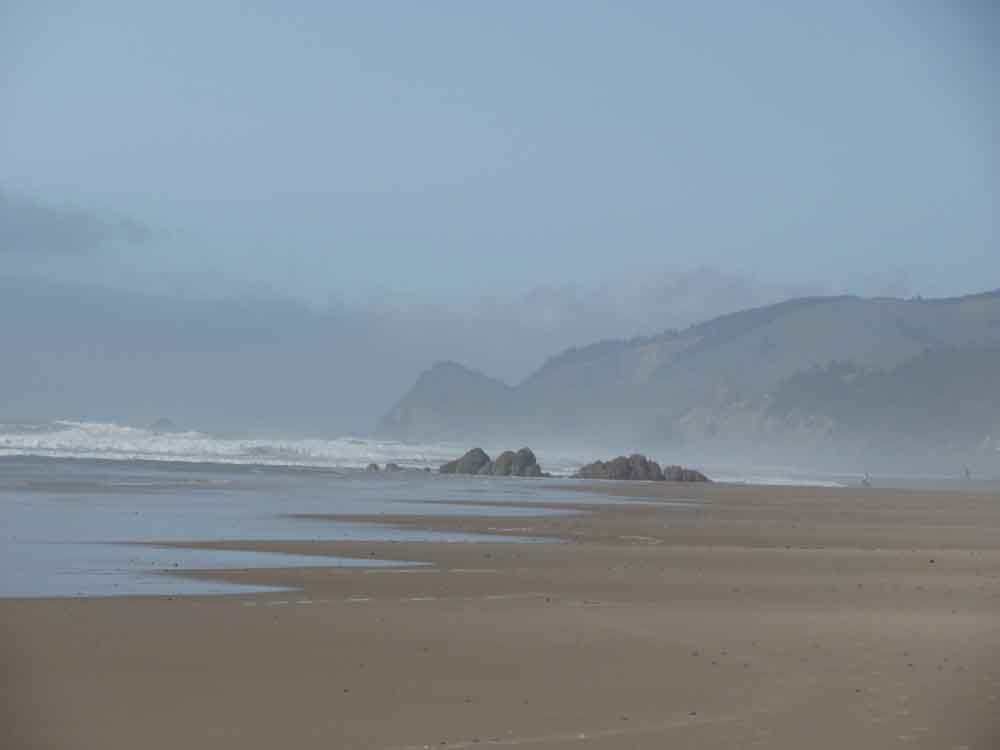 It's easy to see why Alice wielded her camera.  The shore at Lincoln City is a shutterbug's delight.