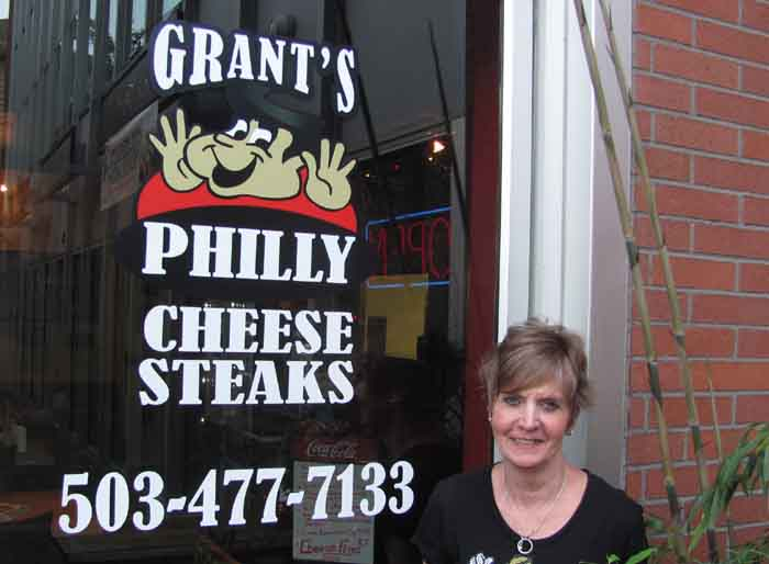 Part-owner Diane Schuler pampered us without knowing who we are.