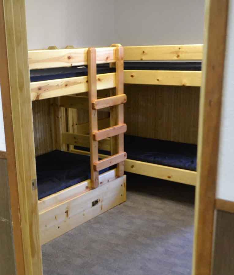 camp sleep quarters-lr